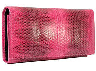 Женский кошелек из кожи морской змеи (SN 53 Pink)