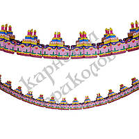Гирлянда 3D Тортики, фото 1