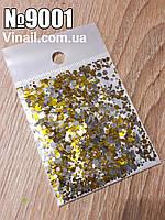 Конфетти для декора ногтей № 9001