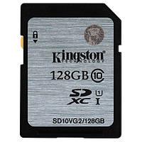 Карта пам'яті SDXC Kingston SD10VG2/128GB Black