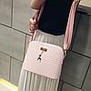 Стильная сумочка с брелком, фото 9