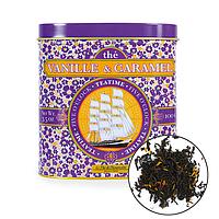 Органический чёрный чай с ароматом ванили и карамели, 100г , Terre d'Oc