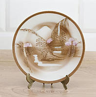 Тарелка коллекционная, фарфор, Япония, 1940 е, фото 1