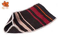 Массажная варежка-мочалка из верблюжьей шерсти