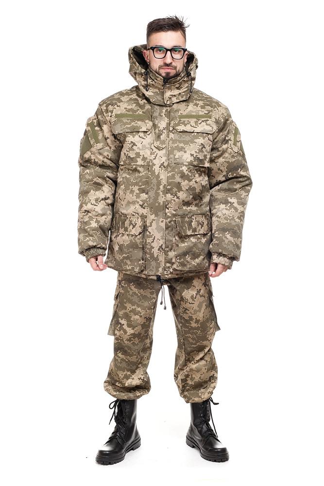 Куртка зимняя бушлат пиксель ВСУ