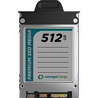 "Накопитель SSD Convergent Design 512GB 2.5"" Solid State Drive for Odyssey 7 / 7Q Monitor & Compressed Recorder"