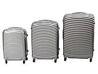 Комплект чемоданов 3 в 1 MILA ABS-53