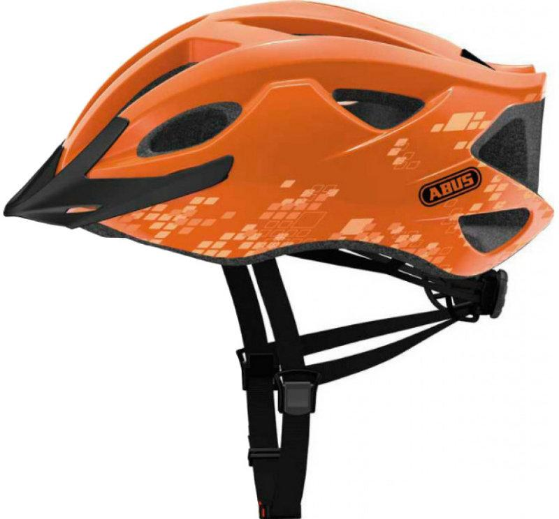 Велошлем ABUS S-CENSION Diamond Orange (L)