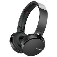 Навушники накладні з мікрофоном безпровідні Sony Sony MDR-XB650BT Black
