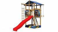 Детская спортивная игровая площадка бук / береза, сосна SportBaby-7