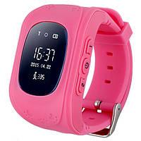 Смарт-годинник дитячий Smart Baby W5 GPS Smart Tracking Watch (Q50) Pink