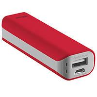 Додатковий акумулятор універсальний Trust Primo Power Bank 2200mAh Red