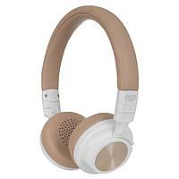 Навушники накладні з мікрофоном безпровідні Ergo BT-690 White