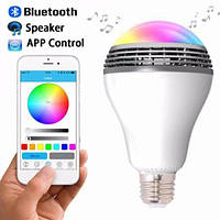 Smart LED Lamp умная лампочка Bluetooth MP3 YY-001
