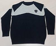 Ada Yildiz Школьная кофта на мальчика р128-146 синий/серый
