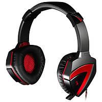 Навушники накладні з мікрофоном A4Tech Bloody G500 Black Red