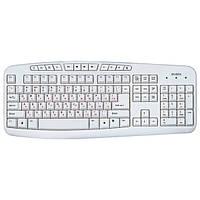 Клавіатура USB мультимедійна Sven Comfort 3050 White