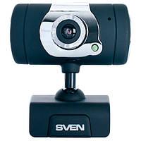Веб-камера 0.3 Мп з мікрофоном Sven IC-525 Black