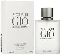 Мужская туалетная вода Giorgio Armani Acqua di Gio (свежий фужерно-водный аромат)