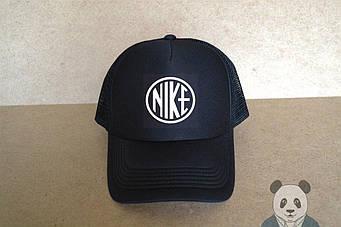 Спортивная кепка Nike, Найк, тракер, летняя кепка, мужская, женская, черного цвета, копия