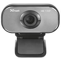 Веб-камера 2.0 Мп з мікрофоном Trust Viveo HD 720P webcam Black