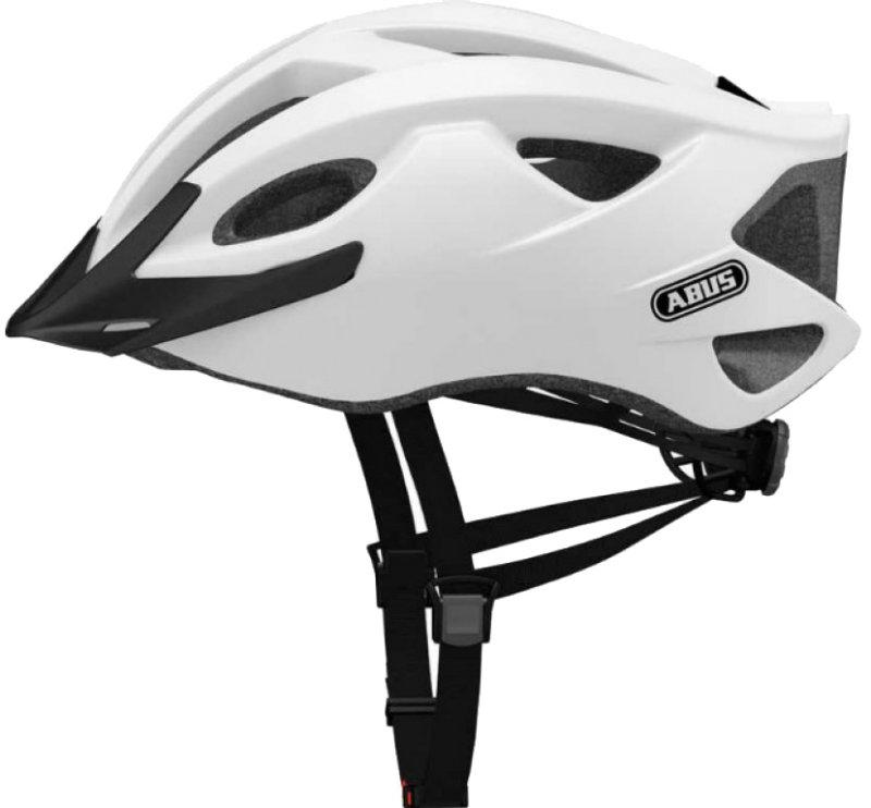 Велошлем ABUS S-CENSION Polar White (L)