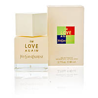 Женская туалетная вода Yves Saint Laurent In Love Again La Collection, 85ml (нежный, свежий, цветочный аромат)