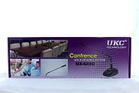 Микрофон для конференций DM MX-622C, микрофон настольный на гибкой  шейке в комплекте с подставкой?