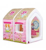 """Детский надувной домик Intex """"Princess Play House"""" 48635, 124х109х122 см, ремкомплект, в коробке"""