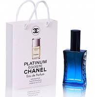 Chanel Egoiste Platinum  (Шанель Эгоист Платинум) в подарочной упаковке 50 мл.