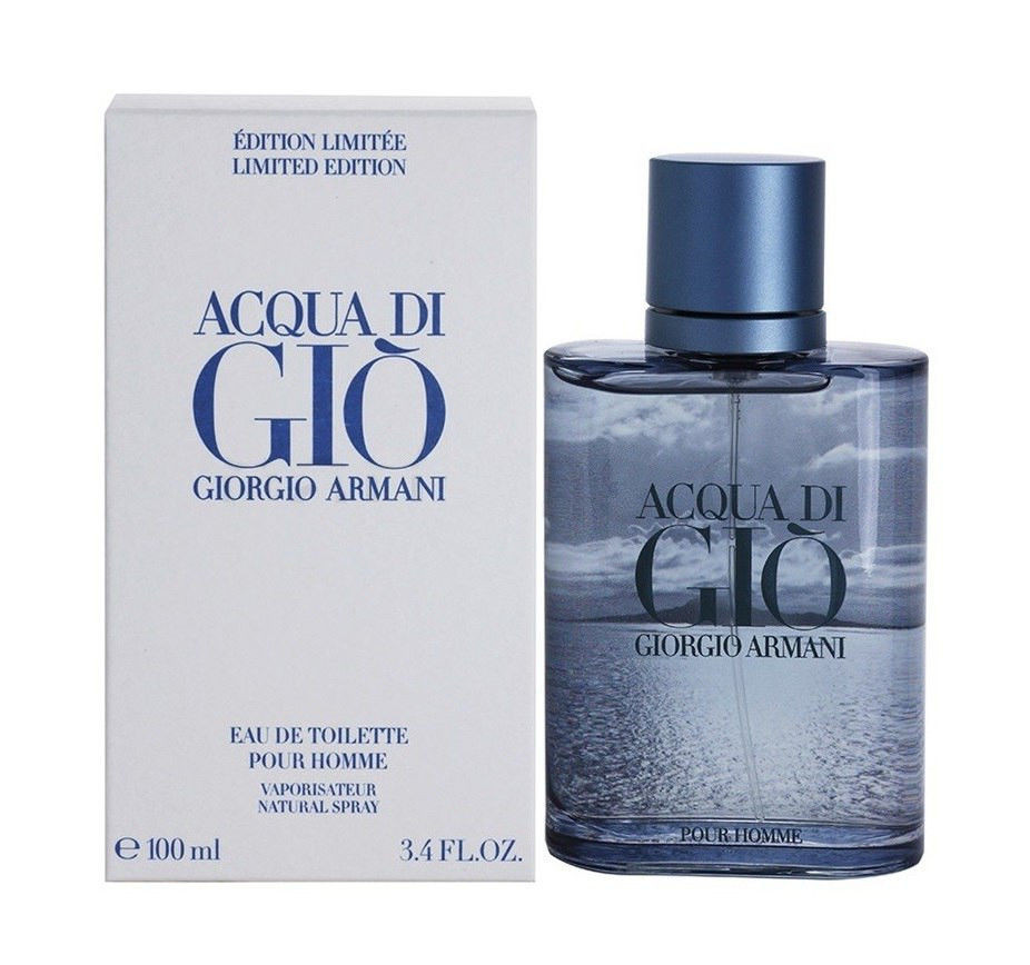 "Туалетная вода Giorgio Armani Acqua di Gio Blue Edition Pour Homme (Джорджио Армани Аква Ди Джио Блю Эдишен) - Интернет-магазин ""TaraBara"" в Днепре"