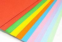 Цветная бумага Коленкор А4/80г пастель 100 листов