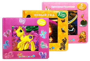 Книжка-пазл микс 3870 Toy Joy