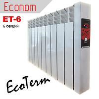 Электробатарея отопления EcoTerm ET-6 Econom