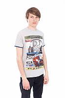 Качественная серая футболка