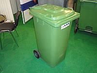 Уличный мусорный контейнер 120 л