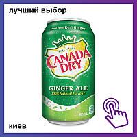 Напиток Canada Dry Ginger Ale Канада Драй Имбирный эль