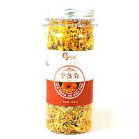 Чай китайский Календула цветочный Подарочный пб 30г