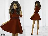 Шоколадное коричневое платье Лолита