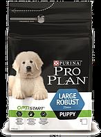 Pro Plan Puppy Large Robust корм для щенков крупных пород с курицей, 3 кг
