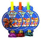 """Язичок-гудок """"З днем народження кульки"""" набір 6 шт, фото 3"""