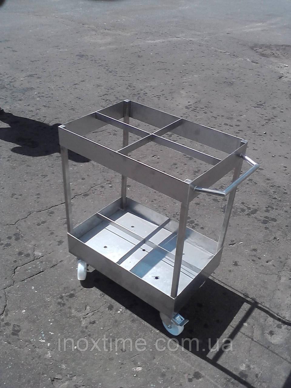 Тележка транспортировочная для коптильных палок (вешал) на 250 шт.