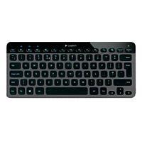 Клавіатура безпровідна Logitech Bluetooth Illuminated Keyboard K810 Black