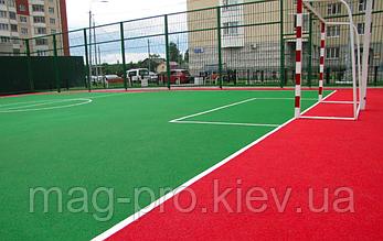 Бесшовные резиновые покрытия для спортивных площадок, фото 3