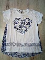 Детская летняя туника для девочки 13271 Турция