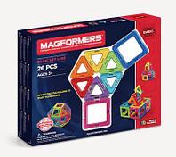 Магнитный конструктор 26 элементов, Базовый набор, Magformers