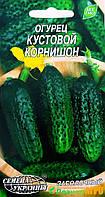 "Семена огурца кустовой корнишон, раннеспелый 1 г, ""Семена Украины"", Украина"