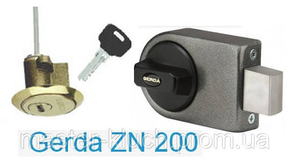 Замок накладной Gerda ZN 200