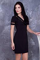 Стильное черное платье Лоренс ТМ Irena Richi 42-48 размеры