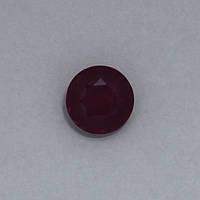 Рубин розовый круг 10 мм. 4,80 карат
